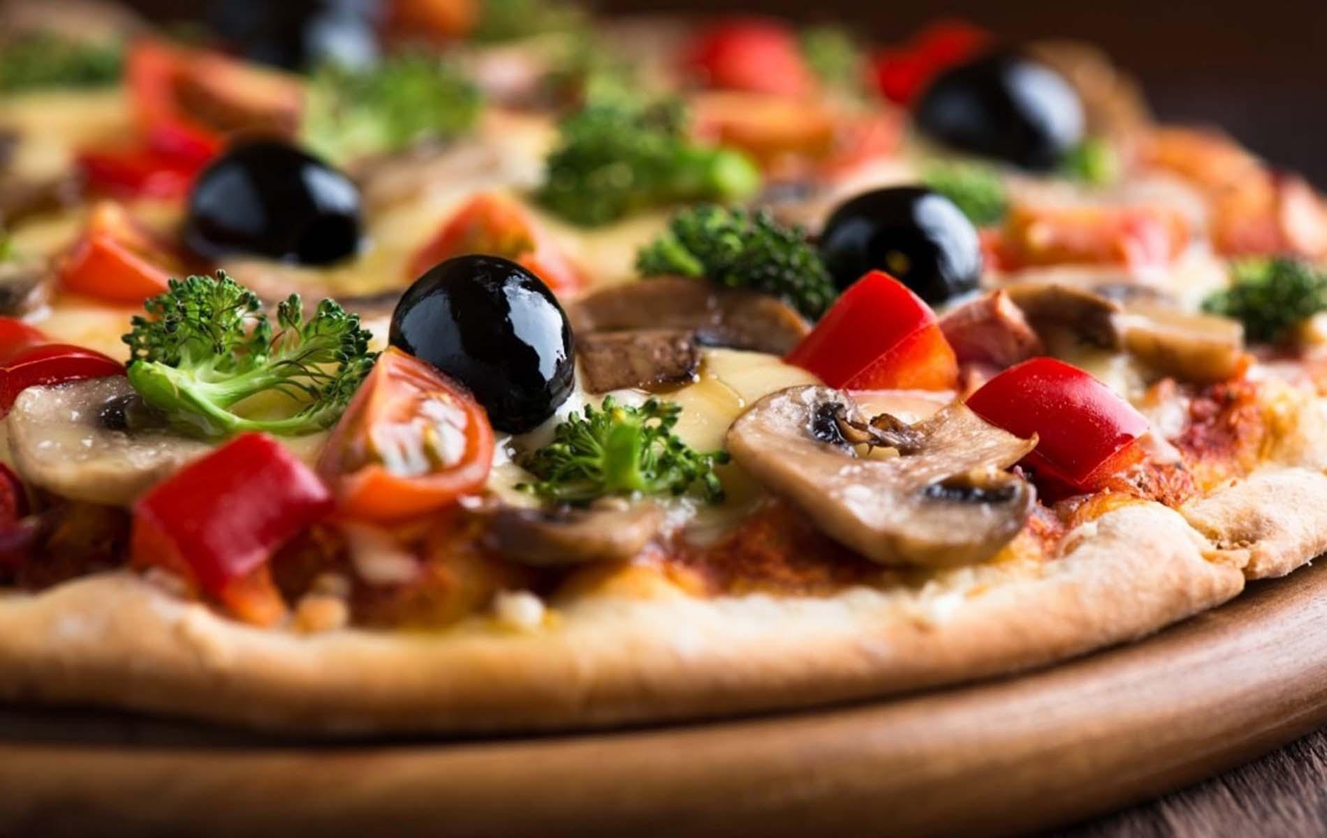 Pizze alle verdure